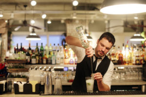 Revolution Bars Group - Revolucion de Cuba Manchester - bar tender