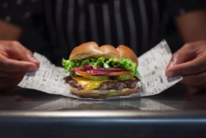 Smashburger Classic Burger