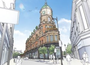 Artist impression of The Department Store, Albion and East's new site in Brixton