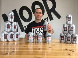 Moor Beer owner Justin Hawke