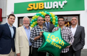 Milestone 100th Subway store opens in Northern Ireland
