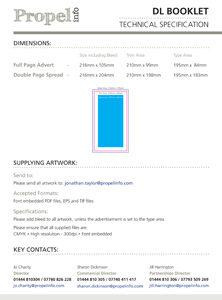 DL Booklet Spec Sheet