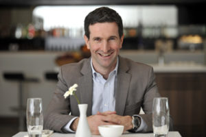 No1 Lounges founder and chief executive Phil Cameron
