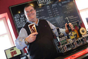 Black Sheep Brewery chairman Andy Slee