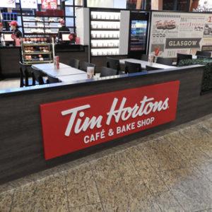 Tim Hortons debut UK shopping centre site – at Silverburn in Glasgow