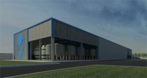 Artist impression of brewDog's new sour beer facility The Overworks