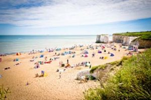 Brits on the beach as staycations continue to rise
