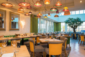 The new bar and restaurant at the Alderley Edge Hotel, which is the first phase of a £2.5m refurbishment by JW Lees