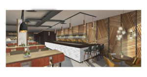 Artist impression of The Anthologist, which will be Drake & organ's second site in Manchester