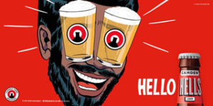 Camden Town Brewery has launched its largest marketing campaign with Hello Hells