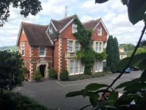The Tasburgh House Hotel in Bath, which is on the market for in excess of £2m