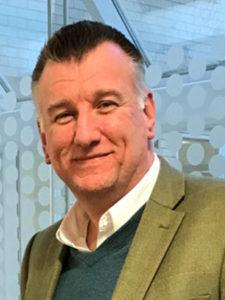 Roslyn's new managing director Geoff Temperton