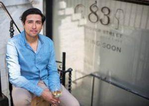 Former Gleneagles restaurant manager Juan Jose Castillo Castro outside his new site – 83 Hanover Street