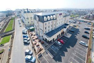 Whitbread's Premier Inn hotel in Bridlington