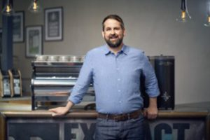 Extract Coffee Roasters co-founder Lee Bolam