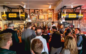 Fuller's has reopened The Distillers in hammersmith, which now serves Frontier from tanks