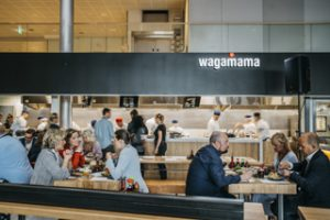 Wagamama has opened its debut site in Norway, at Oslo airport