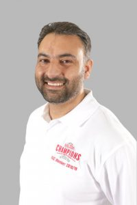 Former Domino's Pizza regional operations director turned Papa John's franchisee Amit Abhol