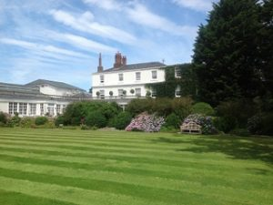 Rowton Hall Hotel & Spa in Chester, which has been acquired by Anderbury off an asking price of £6.25m