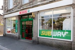 Subway is extending its partnership with Spar operator Gillett's Callington