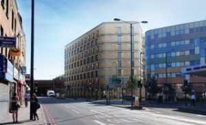 Finsbury Park will be home to a new Premier Inn and Bar + Block restaurant