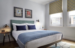 The new bedrooms at The Coach in Clerkenwell, which is operated by Harcourt Inns