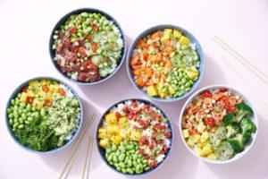 Honi Poké's vegan bowls