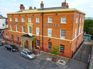 The Lowther Hotel in Goole, East Yorkshire, which is the UK's oldest hotel