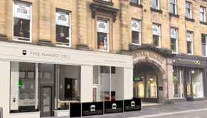 The Naked Deli site in Grey Street, Newcastle
