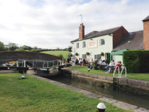 The Admiral Nelson in Braunston