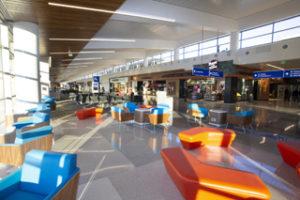 Terminal 3 of Phoenix Sky Harbor International airport, where SSP is opening six restaurants