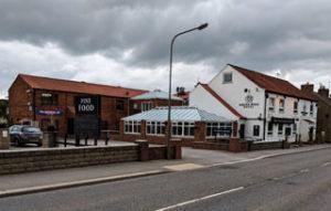 The White Rose pub in Leeming Bar, North Yorkshire