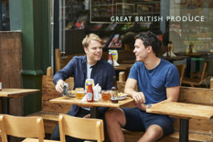 Honest Burgers founders Tom Barton and Philip Eeles