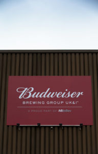 Budweiser Brewing Group – the new name for Anheuser Busch InBev in the UK and Ireland