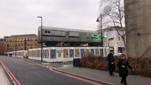 The site of Vinegar Yard in London Bridge, an eating, drinking and arts space that is being launched by Flat Iron Square founder Benj Scrimgeour