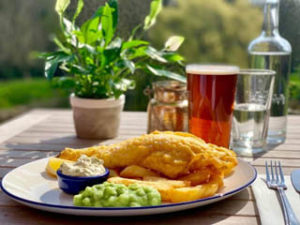 The beer batter in Brunning & Price's fish and chip dish is now gluten free