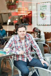 Leon co-founder John Vincent