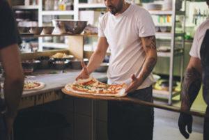 Neapolitan pizza concept Rudy's