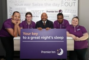 Whitbread has opened a three-bedroom Premier Inn in Coventry that will help young people with additional needs return to work in partnership with Hereward College
