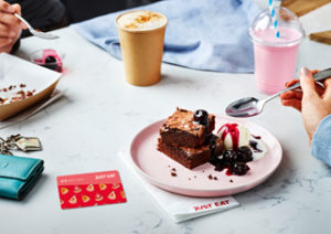 Just Eat has unveiled its first gift card offer