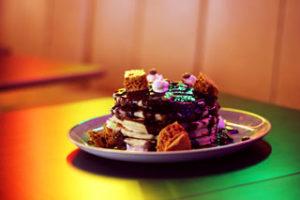 Honeycomb pancakes at Glasgow-based pancake house Stack & Still