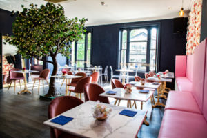 Erpingham House in Norwich, the UK's largest plant-based restaurant