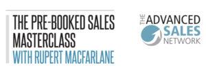 Pre-Booked Sales Masterclass