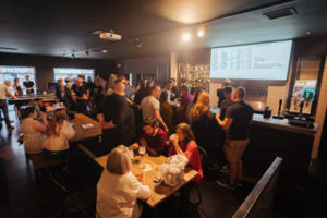 Innis & Gunn's new taproom bar in Dundee following the conversion of the Beer & Kitchen site