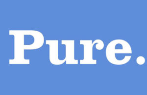 Pure. Logo