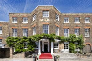 Mitre Hotel in Hampton Court