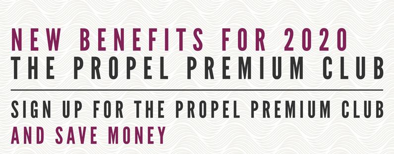 Propel Premium ~ New benefits for 2020